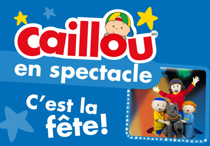 Caillou en Spectacle - 2 avril 2017, Sainte-Thérèse