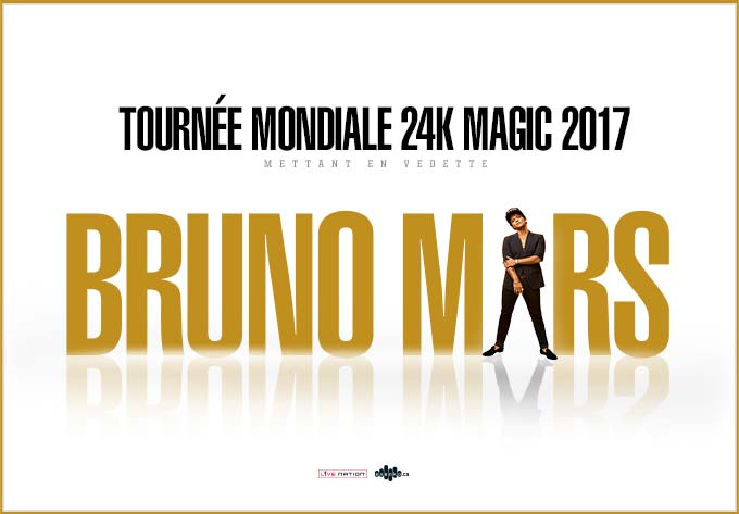 Bruno Mars - August 29, 2017, Montreal