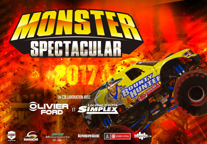 Monster Spectacular XXIII : in collaboration with Olivier Ford & Location d'outils Simplex - April  8, 2017, Montreal