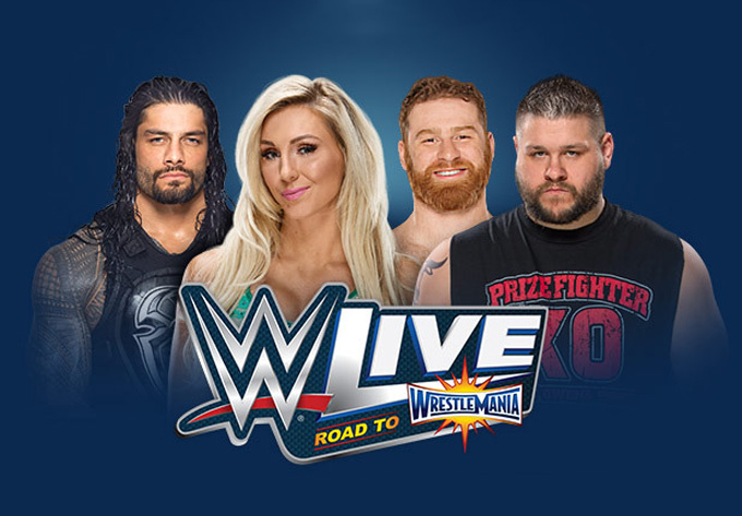 WWE LIVE ROAD TO WRESTLEMANIA - 24 mars 2017, Montréal