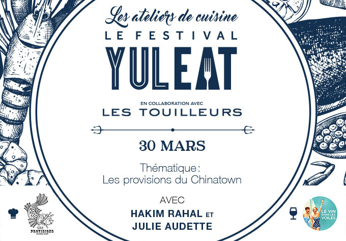 A Culinary Workshop with Hakim Rahal and Julie Audette - March 30, 2017, Montréal