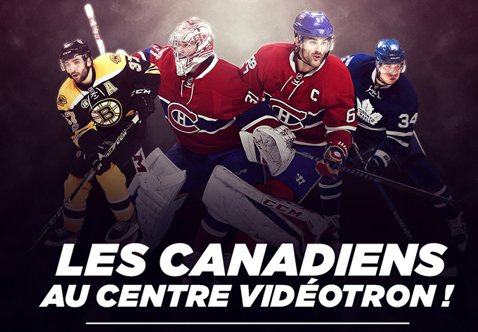 Bruins de Boston vs Canadiens de Montréal  - 18 septembre 2017, Québec