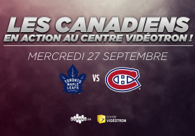 Maple Leafs de Toronto vs Canadiens de Montréal