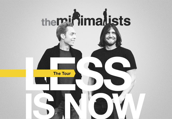 The Minimalists - September  2, 2017, Montreal