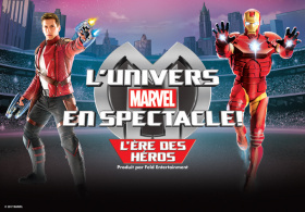 L'univers de Marvel en spectacle!