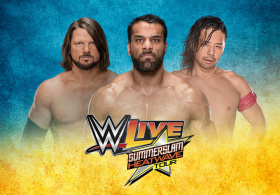 WWE LIVE Tournée Summerslam Heatwave