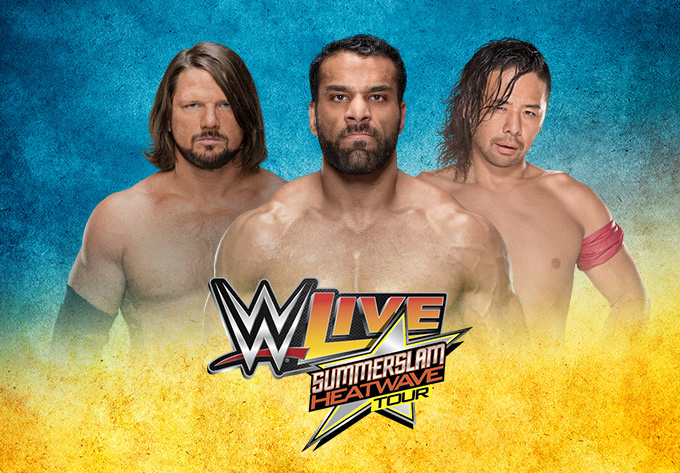 WWE LIVE Summerslam Heatwave Tour - August  5, 2017, Montreal