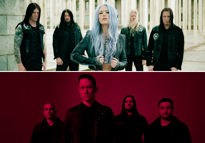 Arch Enemy and Trivium - November  5, 2017, Montreal