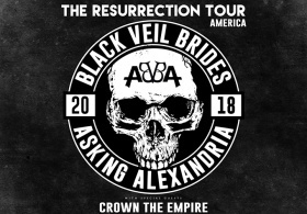 BLACK VEIL BRIDES / Asking Alexandria