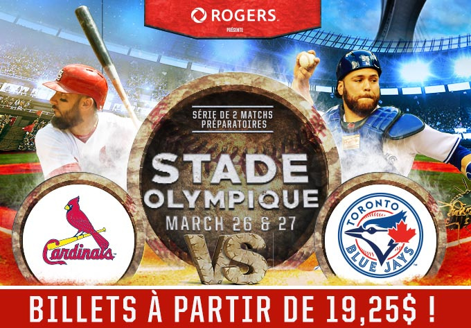 Cardinals vs Blue Jays - 26 mars 2018, Montréal