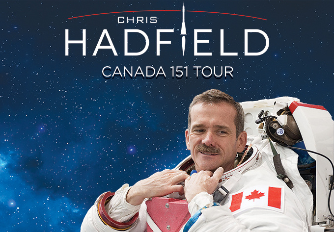 Chris Hadfield - 2 mars 2018, Saint John