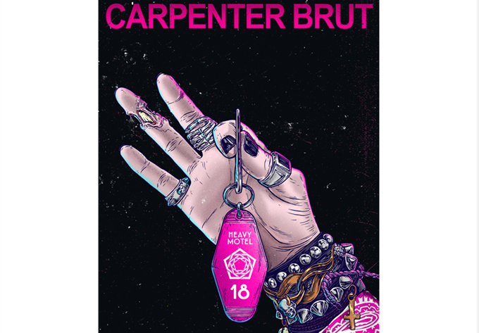 Carpenter Brut - April 28, 2018, Montreal