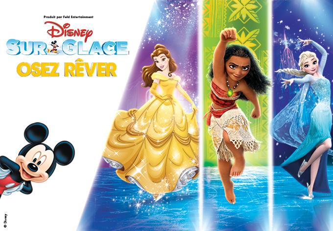 DISNEY ON ICE! presents Dare to Dream - March  9, 2018, Montreal