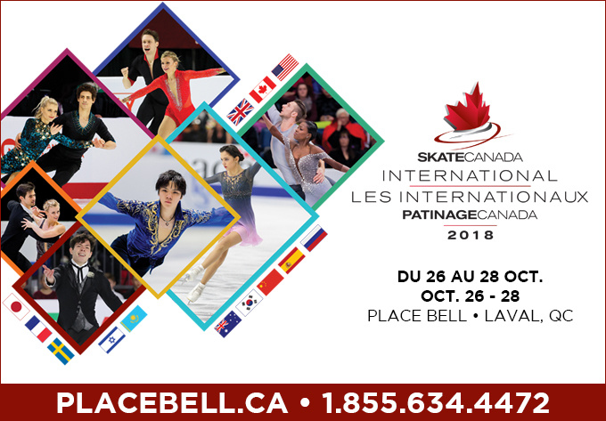 Les Internationaux Patinage Canada - 28 octobre 2018, Laval