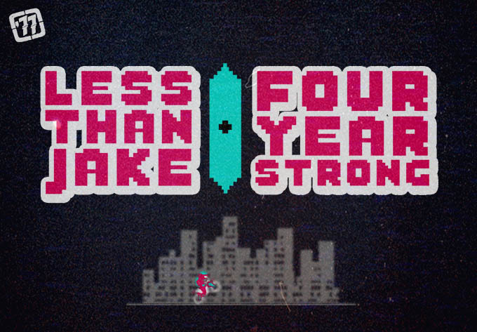 Less Than Jake / Four Year Strong - February 20, 2018, Montreal