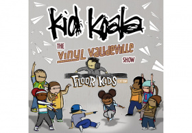 Kid Koala's Vinyl Vaudeville Floor Kids Edition