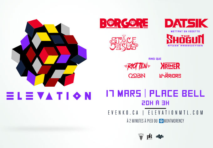 Elevation 2018 - March 17, 2018, Laval