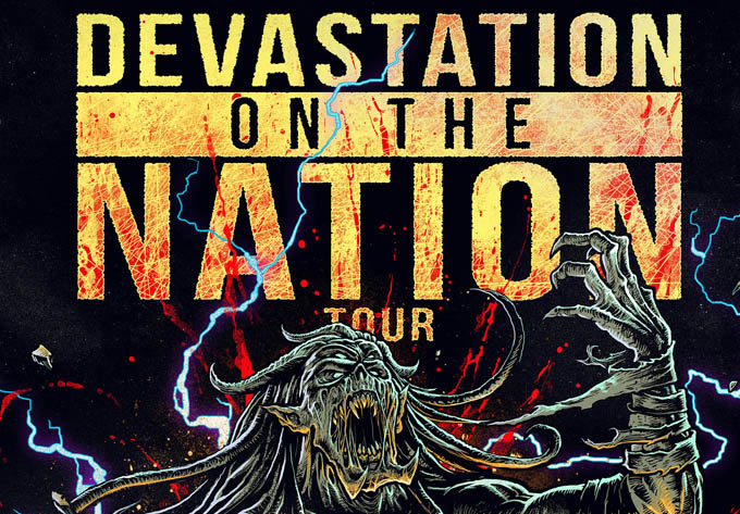 Devastation On The Nation Tour  - May 26, 2018, Montreal
