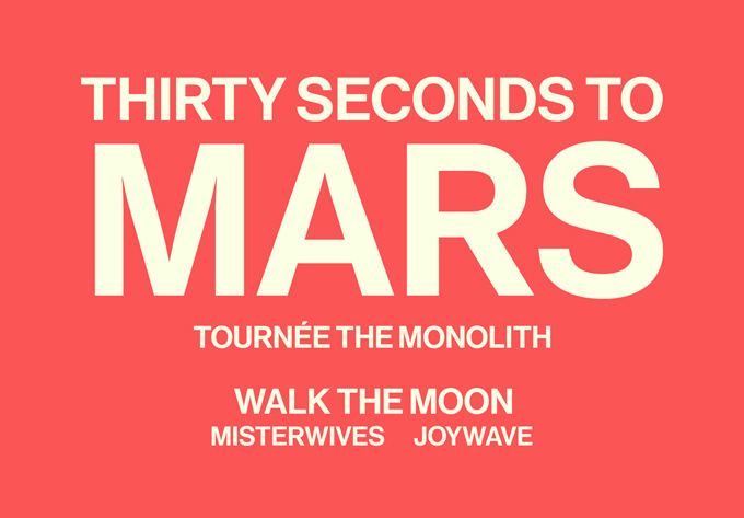 Thirty Seconds to Mars  - June  8, 2018, Laval
