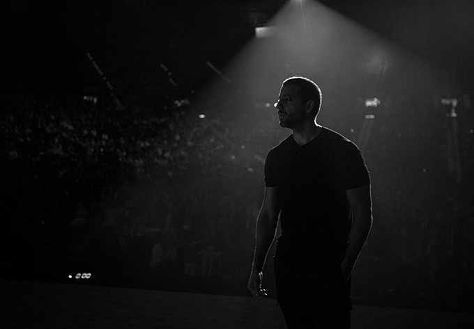 David Blaine - July  2, 2018, Montreal
