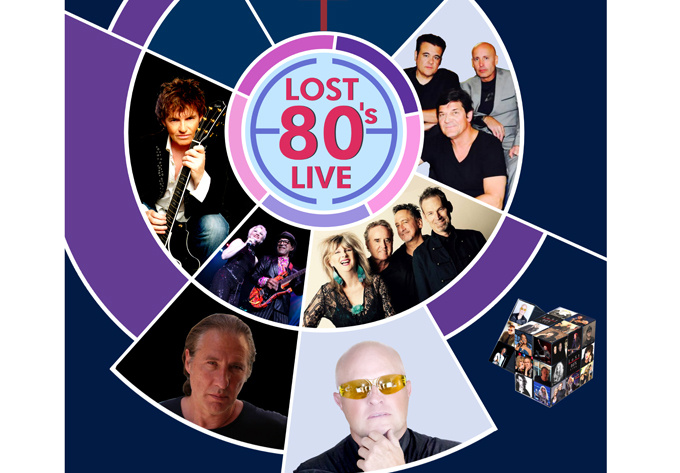 Lost 80's Live! - September 28, 2018, Laval