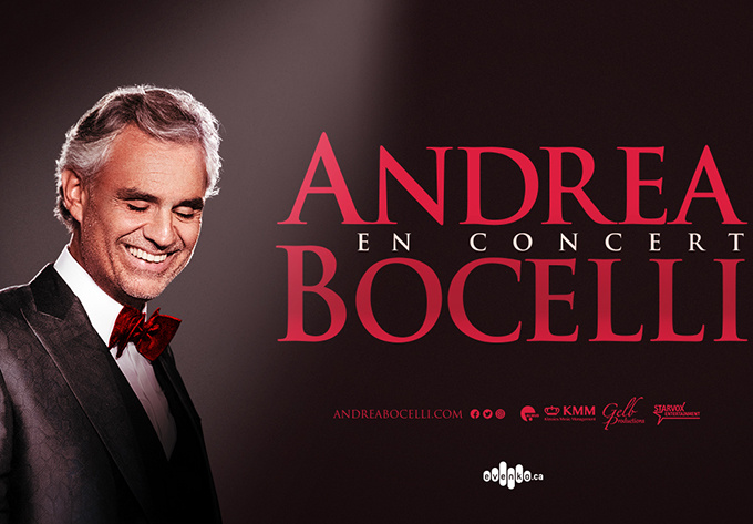 Andrea Bocelli - October 21, 2018, Montreal