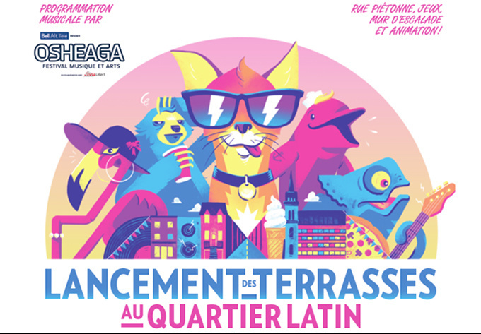 Latin Quarter Terraces Launch  - May 25, 2018, Montreal