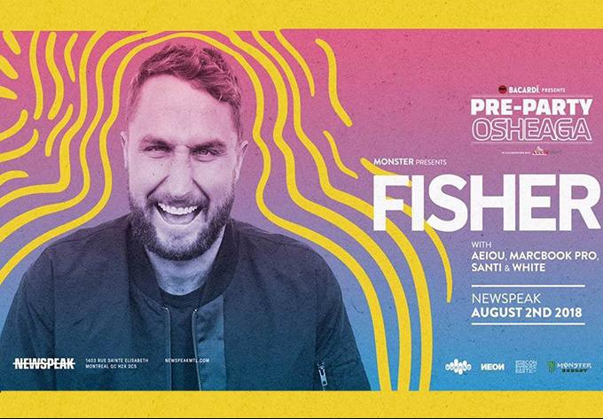 Fisher - August  2, 2018, Montreal