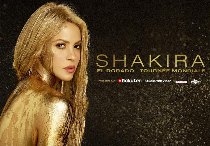 Shakira - 8 août 2018, Montréal