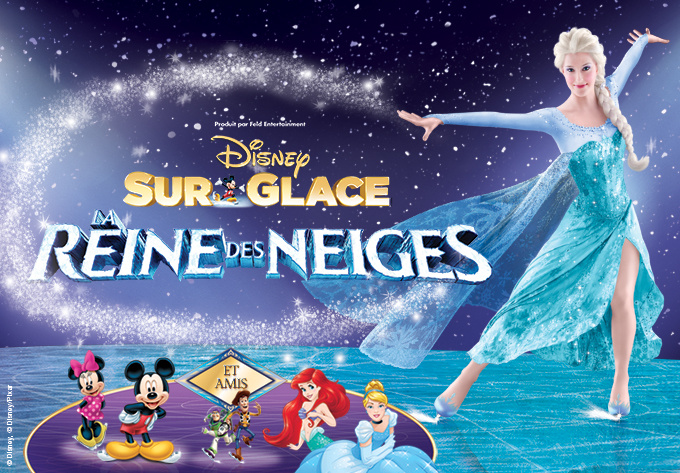 DISNEY ON ICE! presents Frozen - October  4, 2018, Laval