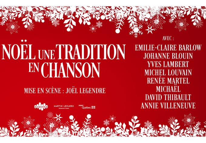 Noël, une tradition en chanson - 2 décembre 2018, Québec