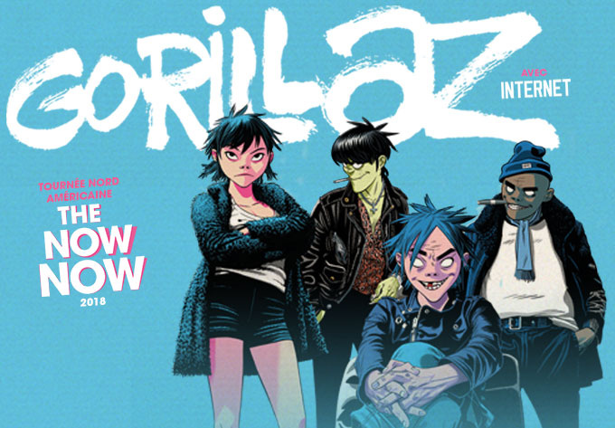 Gorillaz - October  9, 2018, Montreal