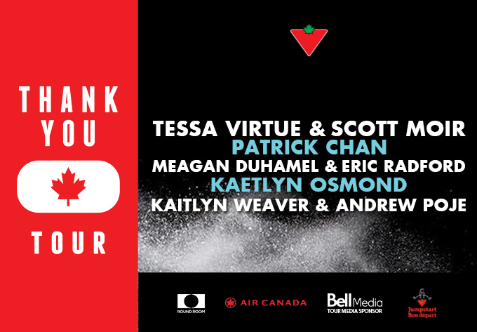 The THANK YOU Canada Tour - November 15, 2018, Summerside