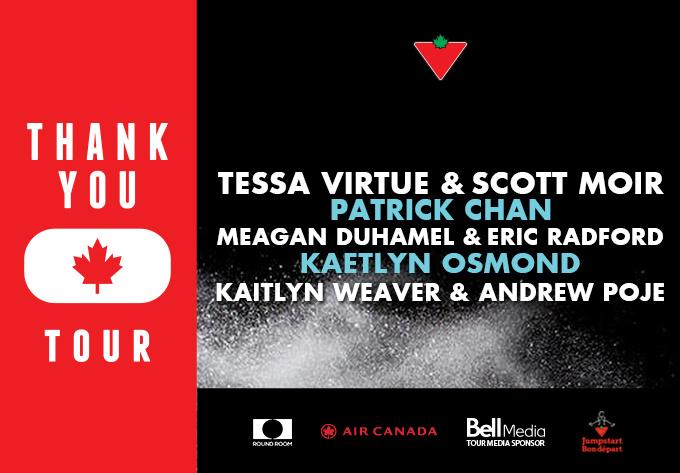 The THANK YOU Canada Tour - November 13, 2018, Saint John