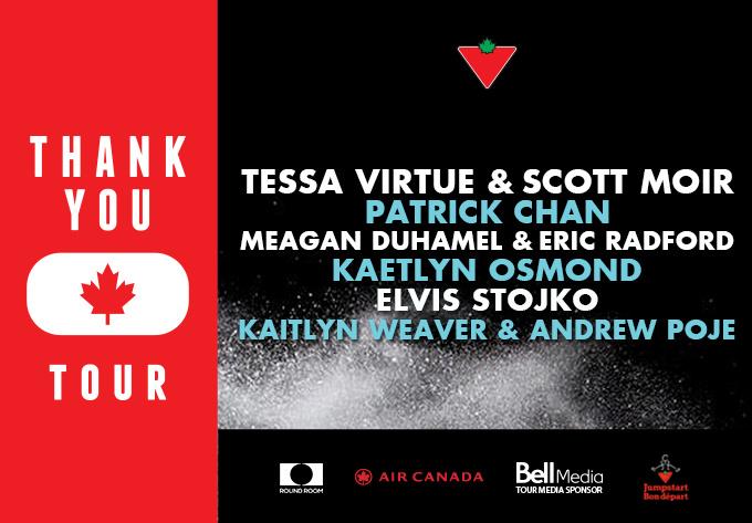 The THANK YOU Canada Tour - November 11, 2018, Moncton