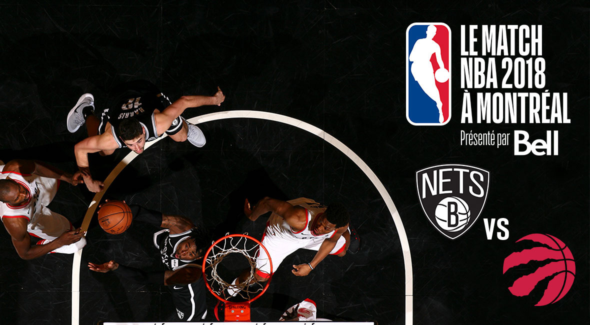 Toronto Raptors vs. Brooklyn Nets