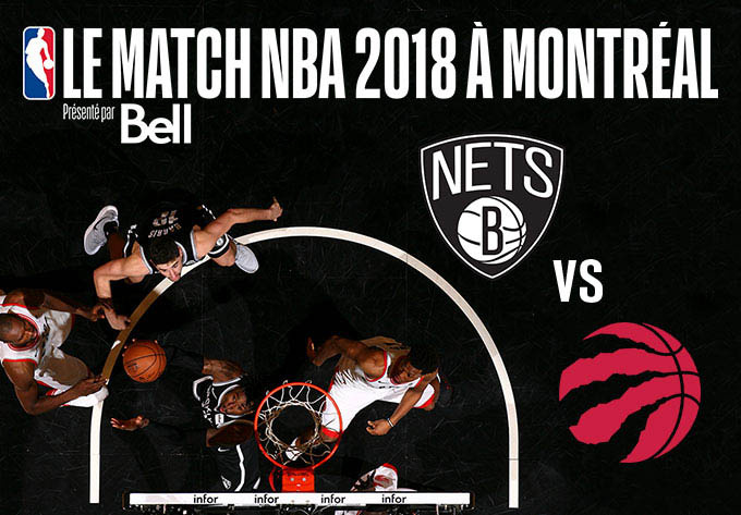 Toronto Raptors vs Brooklyn Nets - 10 octobre 2018, Montréal