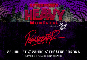 Heavy Afterparty: Perturbator