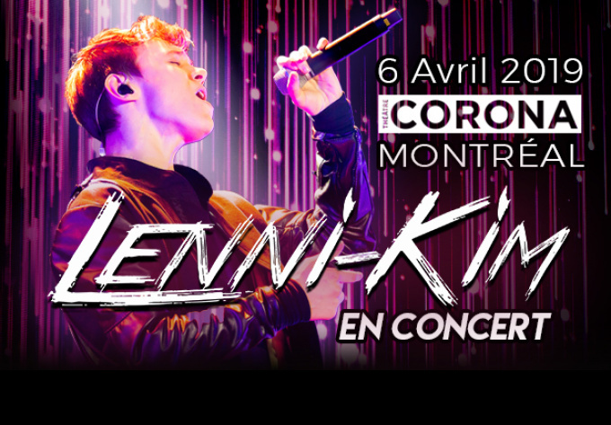 Lenni-Kim - 6 avril 2019, Montréal