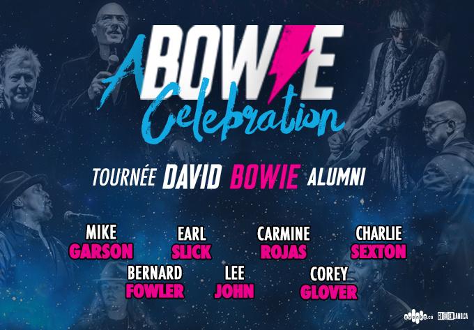 A Bowie Celebration : The David Bowie Alumni Tour - 2 mars 2019, Montréal