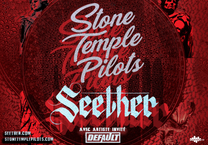 Stone Temple Pilots & Seether - November 15, 2018, Laval