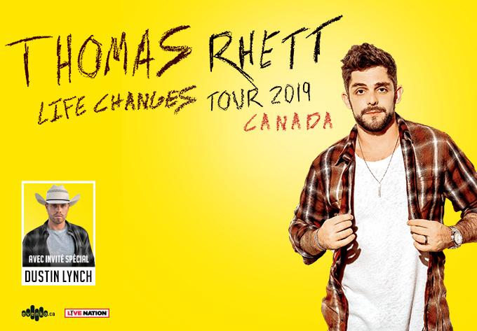 Thomas Rhett - 24 avril 2019, Montréal