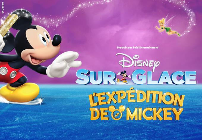 DISNEY SUR GLACE ! présente L'expédition de Mickey - 8 mars 2019, Montréal