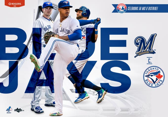 Brewers contre Blue Jays - 26 mars 2019, Montréal