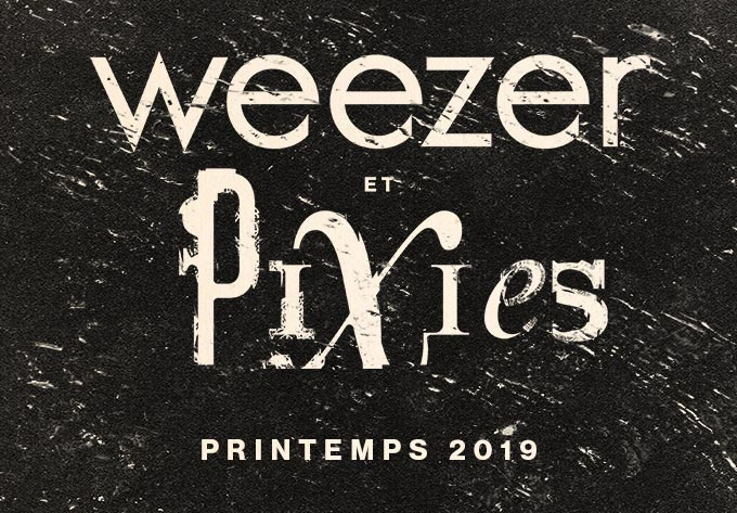 Weezer & Pixies  - 13 mars 2019, Montréal