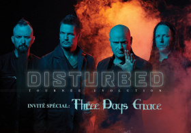 Disturbed - Evolution World Tour