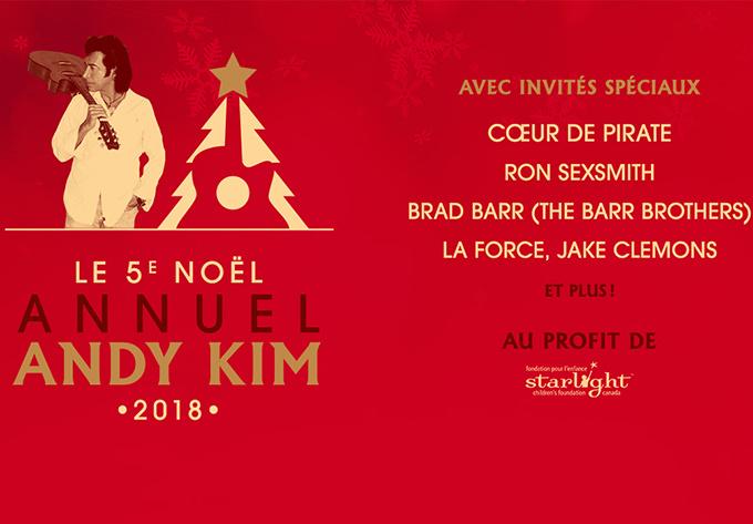 Andy Kim 2018 - 15 décembre 2018, Montréal