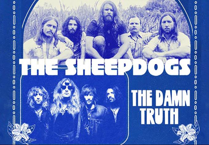 The Sheepdogs & The Damn Truth - 25 janvier 2019, Montréal