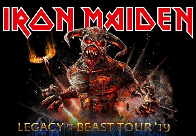 Iron Maiden - 5 août 2019, Montréal