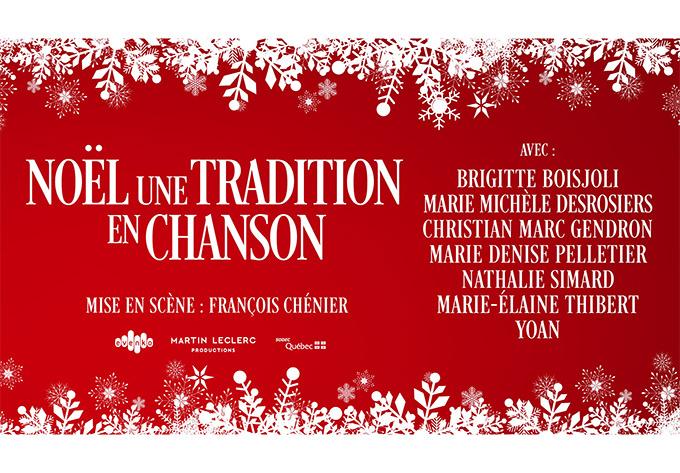 Noël, une tradition en chanson - 1 décembre 2019, Québec